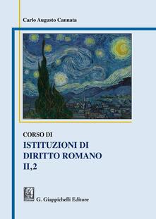 Grandtoureventi.it Corso di istituzioni di diritto romano. Vol. 2\1 Image