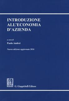 Listadelpopolo.it Introduzione all'economia d'azienda Image