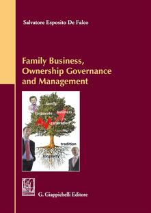 Filippodegasperi.it Family business, ownership governance and management Image