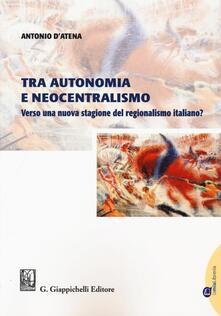 Amatigota.it Tra autonomia e neocentralismo. Verso una nuova stagione del regionalismo italiano? Image