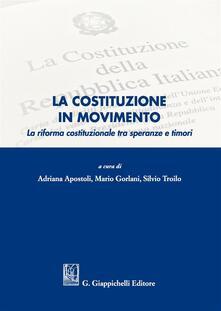 Milanospringparade.it La Costituzione in movimento. La riforma costituzionale tra speranze e timori Image