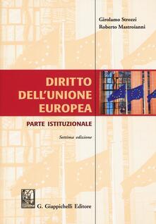 Premioquesti.it Diritto dell'Unione Europea. Parte istituzionale Image