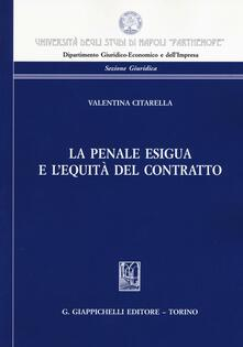 Voluntariadobaleares2014.es La penale esigua e l'equità del contratto Image