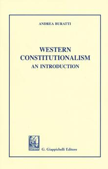 Capturtokyoedition.it Western Constitutionalism. An introduction Image