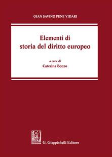 Ristorantezintonio.it Elementi di storia del diritto europeo Image