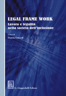 Mercatinidinataletorino.it Legal frame work. Lavoro e legalità nella società dell'inclusione Image