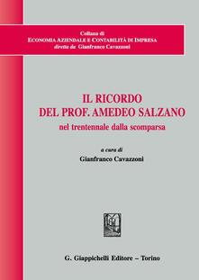 Filippodegasperi.it Il ricordo del prof. Amedeo Salzano nel trentennale dalla scomparsa Image
