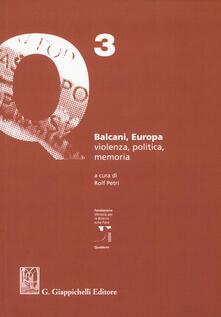 Winniearcher.com Balcani, Europa. Violenza, politica, memoria Image