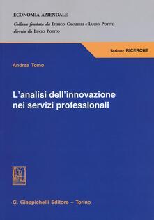 L analisi dellinnovazione nei servizi professionali.pdf