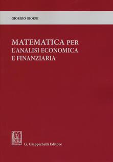 Matematica per lanalisi economica e finanziaria.pdf