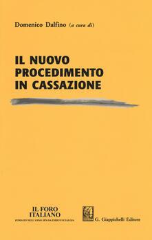 Ipabsantonioabatetrino.it Il nuovo procedimento in Cassazione Image