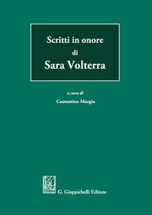 Mercatinidinataletorino.it Scritti in onore di Sara Volterra Image
