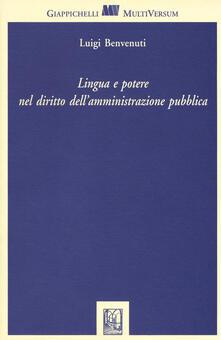 Voluntariadobaleares2014.es Lingua e potere nel diritto delle amministrazioni pubbliche Image