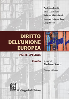 Diritto dellUnione Europea. Parte speciale.pdf