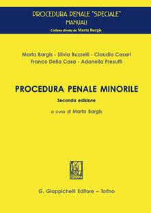 Procedura penale minorile - copertina