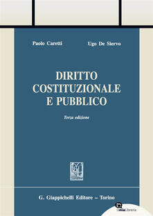 Lpgcsostenible.es Diritto costituzionale e pubblico. Con Contenuto digitale per download e accesso on line Image