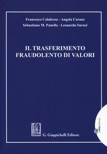 Promoartpalermo.it Il trasferimento fraudolento di valori Image