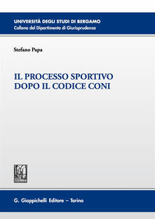Ristorantezintonio.it Il processo sportivo dopo il codice Coni Image