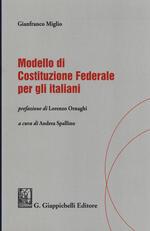 Modello di Costituzione federale per gli italiani