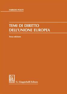 Vitalitart.it Temi di diritto dell'Unione Europea Image