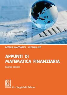 Daddyswing.es Appunti di matematica finanziaria Image