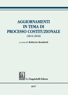 Atomicabionda-ilfilm.it Aggiornamenti in tema di processo costituzionale (2014-2016) Image