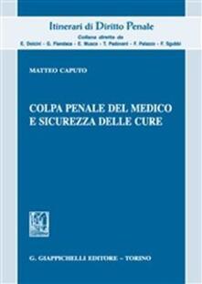 Premioquesti.it Colpa penale del medico e sicurezza delle cure Image