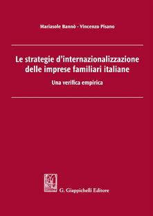 Charun.it Le strategie d'internazionalizzazione delle imprese familiari italiane. Una verifica empirica Image