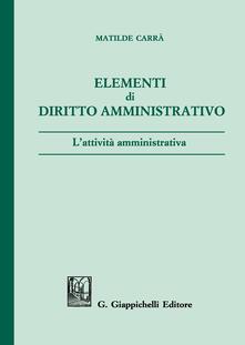 Lpgcsostenible.es Elementi di diritto amministrativo. L'attività amministrativa Image