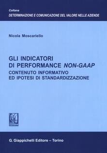 Fondazionesergioperlamusica.it Gli indicatori di performance Non-GAAP. Contenuto informativo ed ipotesi di standardizzazione Image