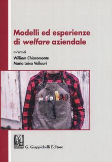Capturtokyoedition.it Modelli ed esperienze di welfare aziendale Image