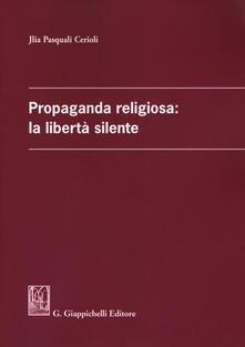 Antondemarirreguera.es Propaganda religiosa: la libertà silente Image