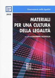 Antondemarirreguera.es Materiali per una cultura della legalità 2018 Image