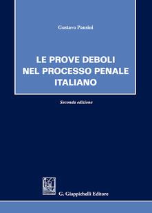 Rallydeicolliscaligeri.it Le prove deboli nel processo penale italiano Image