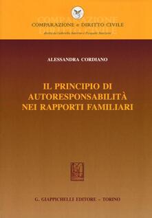Antondemarirreguera.es Il principio di autoresponsabilità nei rapporti familiari Image