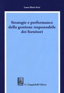 Secchiarapita.it Strategie e performance della gestione responsabile dei fornitori Image