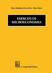Parcoarenas.it Esercizi di microeconomia Image