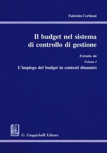 Il budget nel sistema di controllo di gestione. Estratto