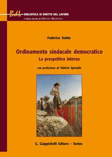 Osteriacasadimare.it Ordinamento sindacale democratico. La prospettiva interna Image