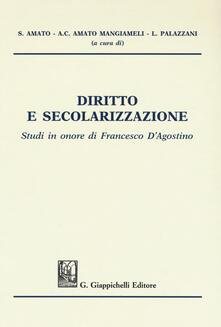Winniearcher.com Diritto e secolarizzazione. Studi in onore di Francesco D'Agostino Image