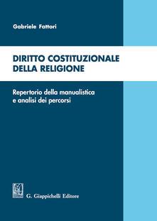 Librisulladiversita.it Diritto costituzionale della religione. Repertorio della manualistica e analisi dei percorsi Image
