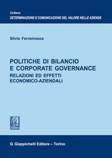 Promoartpalermo.it Politiche di bilancio e corporate governance. Relazioni ed effetti economico-aziendali Image