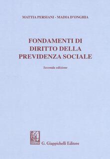 Camfeed.it Fondamenti di diritto della previdenza sociale Image