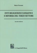Enti religiosi/ecclesiastici e riforma del terzo settore