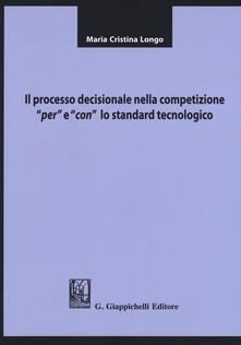 Premioquesti.it Il processo decisionale nella competizione