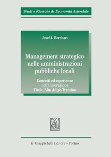 Winniearcher.com Management strategico nelle amministrazioni pubbliche locali. Concetti ed esperienze nell'Euroregione Tirolo-Alto Adige-Trentino Image