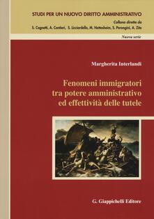 Lpgcsostenible.es Fenomeni immigratori tra potere amminstrativo ed effetività delle tutele Image