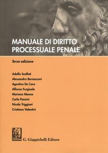 Voluntariadobaleares2014.es Manuale di diritto processuale penale Image