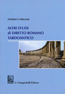Winniearcher.com Altri studi di diritto romano tardoantico Image