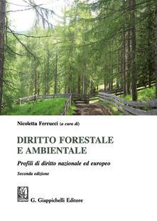 Promoartpalermo.it Diritto forestale e ambientale. Profili di diritto nazionale ed europeo Image
